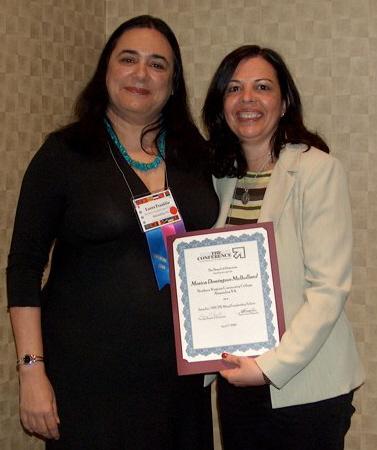 Con mi mentora y amiga, la Dra Laura Franklin